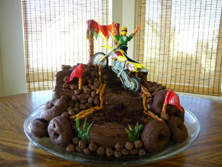 Dirt Bike Cake | Birthdays | Pinterest