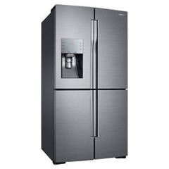 Shop Samsung Flex 28.1-cu ft 4-Door French Door Refrigerator with Single Ice Maker (Stainless Steel) at Lowes.com