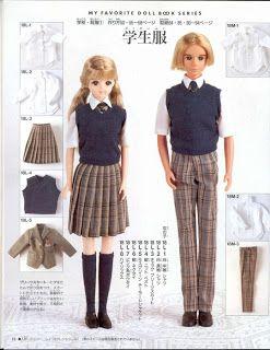 Mimin Dolls: uniforme escolar para dolls
