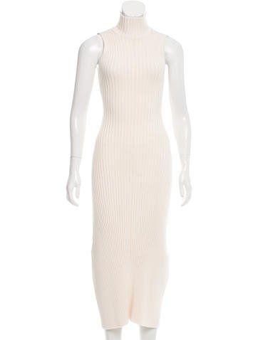Baja East Rib Knit Maxi Dress w/ Tags