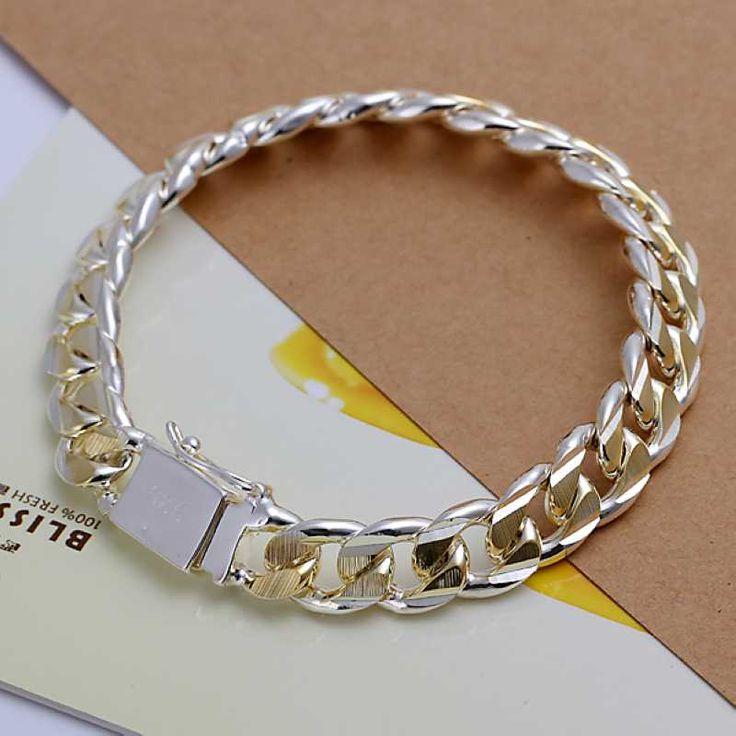 Новинка оптовая продажа серебряный позолоченный браслет, Свадебные аксессуары и украшения, Квадратные пряжки боком 10 м дихроичное браслеты браслет