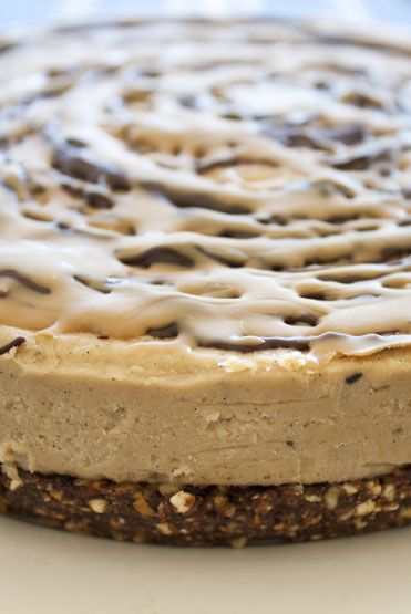 Raw Salted caramel cheesecake. #raw #vegan