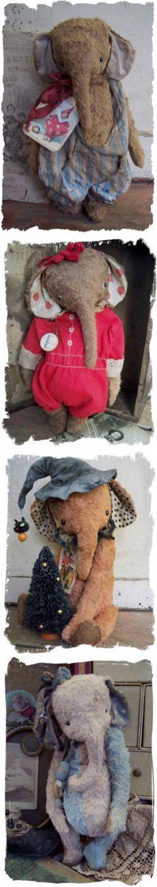 Медведи Whendi в. винтажные слоники