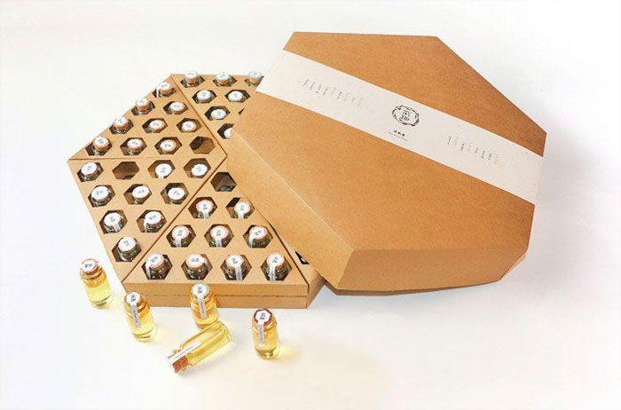 """Honey packaging design """"Funny Honey"""""""