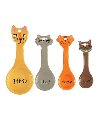 Look what I found on #zulily! Frisky Business Measuring Spoon Set #zulilyfinds