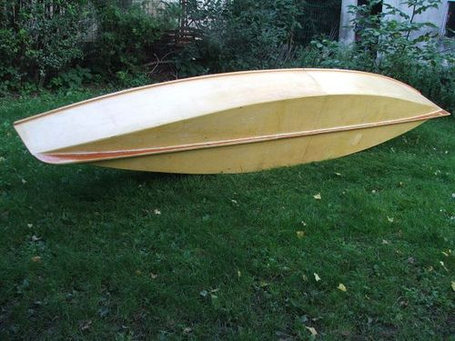 Very simple and easy to build plywood canoe