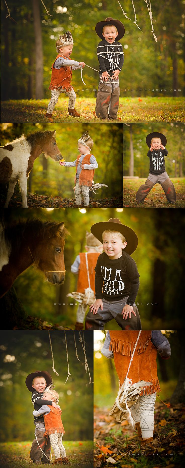 cowboys and indians | Pittsburgh Child and Family Photographer