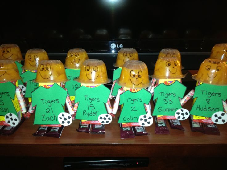17 Best images about Soccer Snack Ideas on Pinterest   Yellow hats ...
