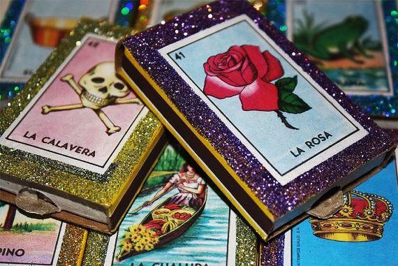 Loteria mexicana favores de la boda conjunto de 100