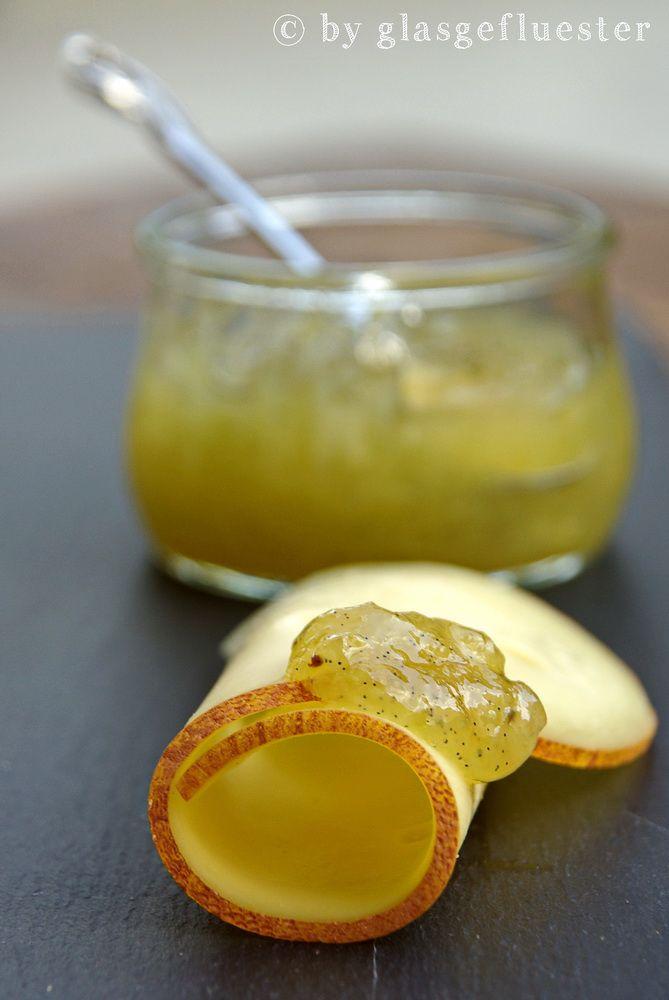 ins glas geflüstert: gurkenmarmelade
