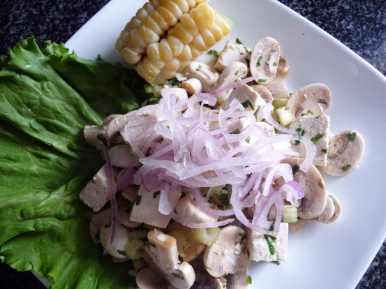 Comida Peruana Vegana