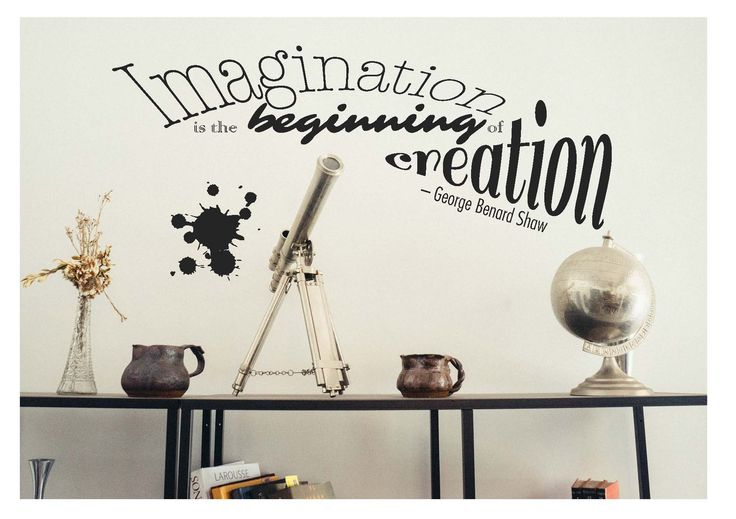 """""""Imagination is the beginning of creation"""" Card by Vianney Cabrera"""