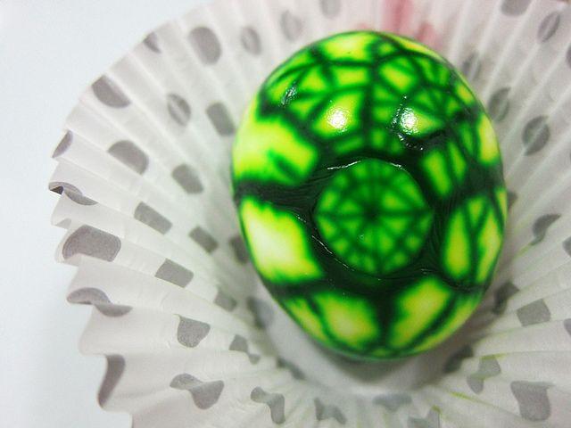 Surprise marble eggs.