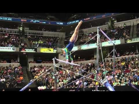 Rachel Gowey – Uneven Bars – 2015 P&G Championships – Sr. Women Day 1 - YouTube