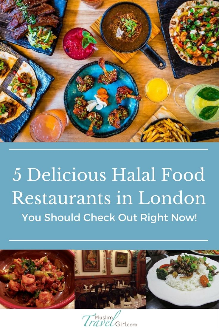 5 mouthwatering halal food restaurants in London you should try next time you are around. With so much variety its hard to pick one.