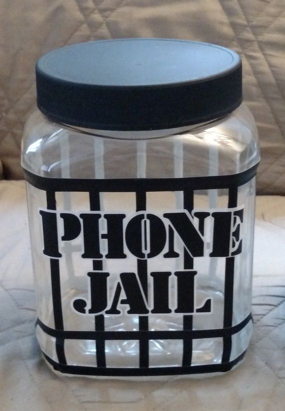 Phone Jail or Cell Block Plastic Shatter Proof Container