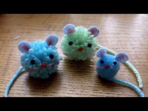 Cute crafts with lady lucas how to make adorable pom pom for Cute pom pom crafts