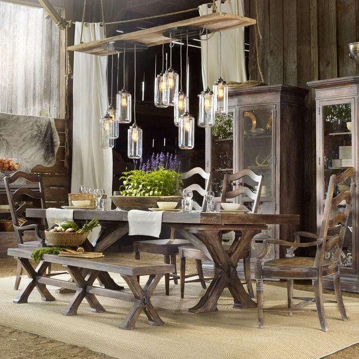Shop For The Hooker Furniture Willow Bend 6 Piece Dining Set At Belfort