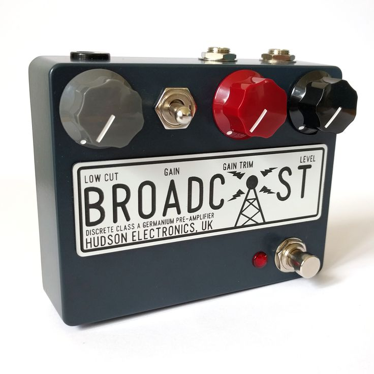£155 The Broadcast is a transformer coupled, discrete Class-A germanium pre-amplifier based on the classic broadcast consoles of the 1960s. In the low-gain setting, the Broadcast can cover everythi…