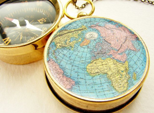The 25 best world map necklace ideas on pinterest map necklace world map compass necklace personalized map compass personalized travel adventurer globe trotter aviation gumiabroncs Image collections