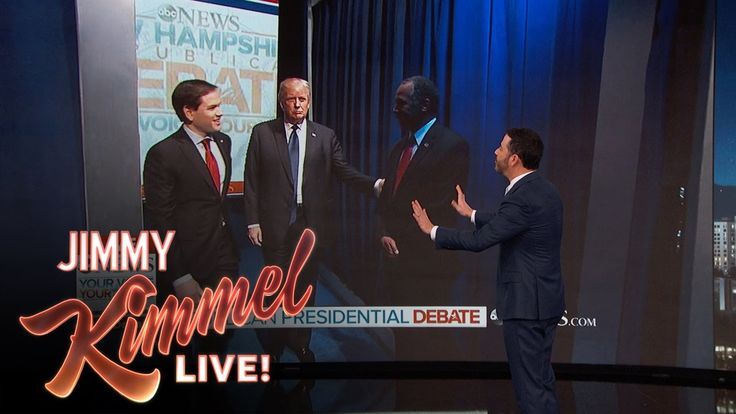 Jimmy Kimmel and the Republican Debate