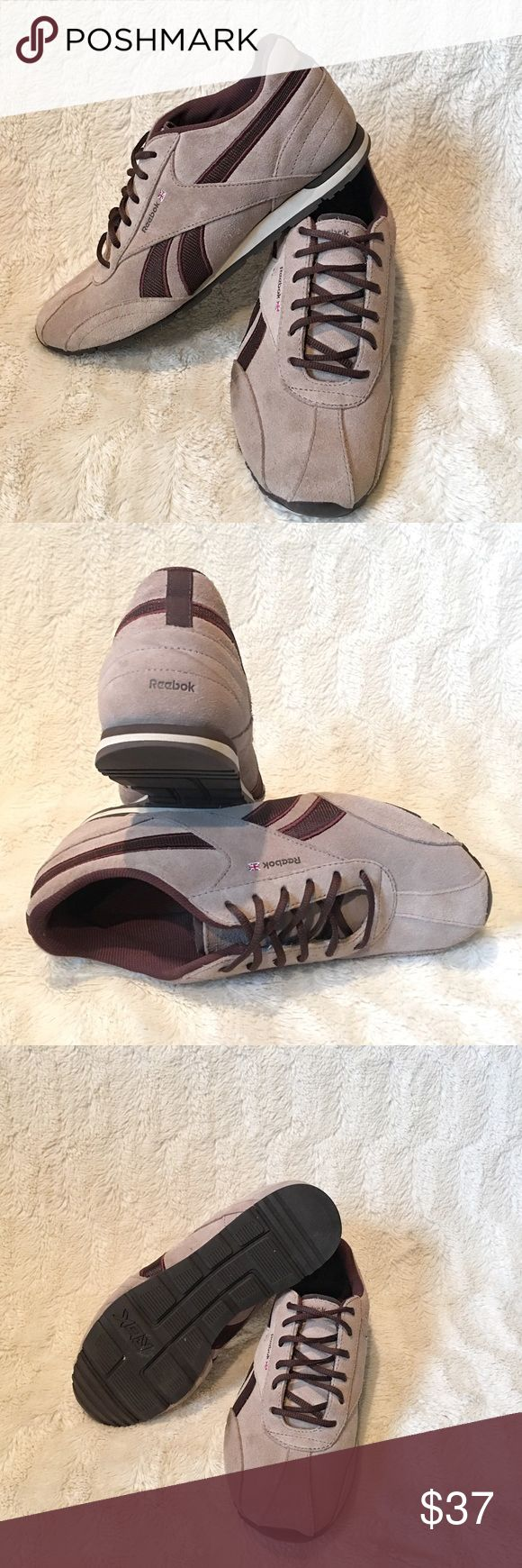 Reebok Suede Shoes Excellent condition. Worn once Reebok Shoes Sneakers