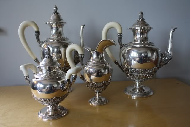 vintage italian silver tea service: Teas Ssrvice, Pots Teas Cups Teas, Teas Teas, Italian Teas, Afternoon Teas, Teas Service, Silver Teas, Teas Pots Teas, Teas Parties