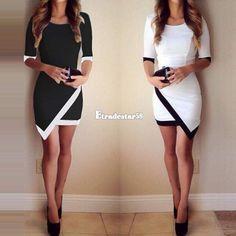 Damen asymmetrischen Abendkleid Cocktailkleid Partykleid Mini kurzes Kleider