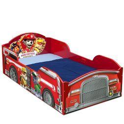 Nick Jr. PAW Patrol Wood Toddler Bed - Delta Children