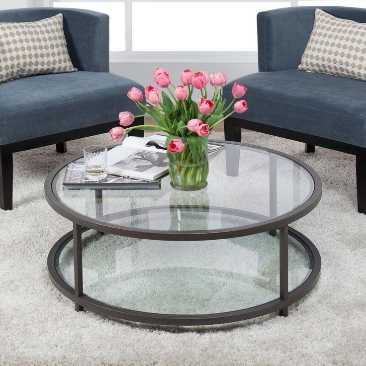 42+ Wayfair glass coffee table round trends