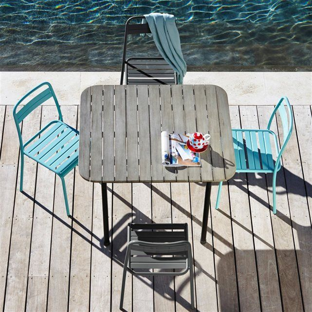 Chaise métal jardin (lot de 2), Tala La Redoute Interieurs