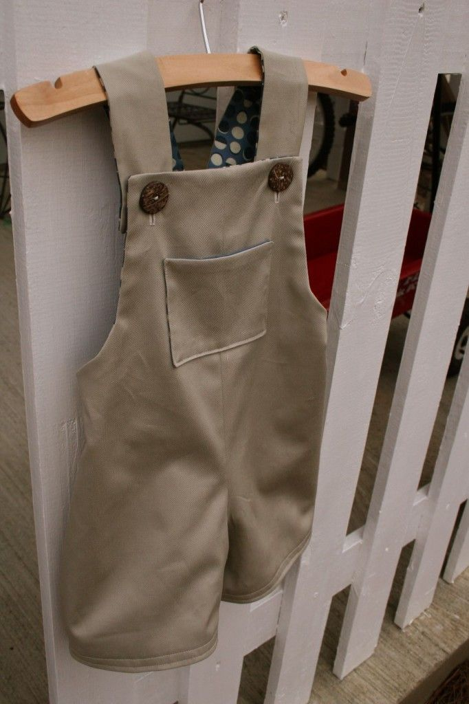 boy overall pattern