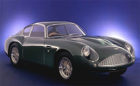 Aston Martin DB4 GT Zagato - one of the most beautiful cars ever designed