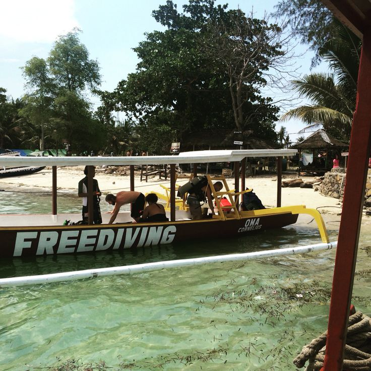 PADI IDC Center Oceans 5 has a freedive boat for all the freediving Courses in Gili Air, Indonesia  Http://www.indonesia-IDC.com  #freediving #freedivegili #giliislands #indonesia #oceans5dive