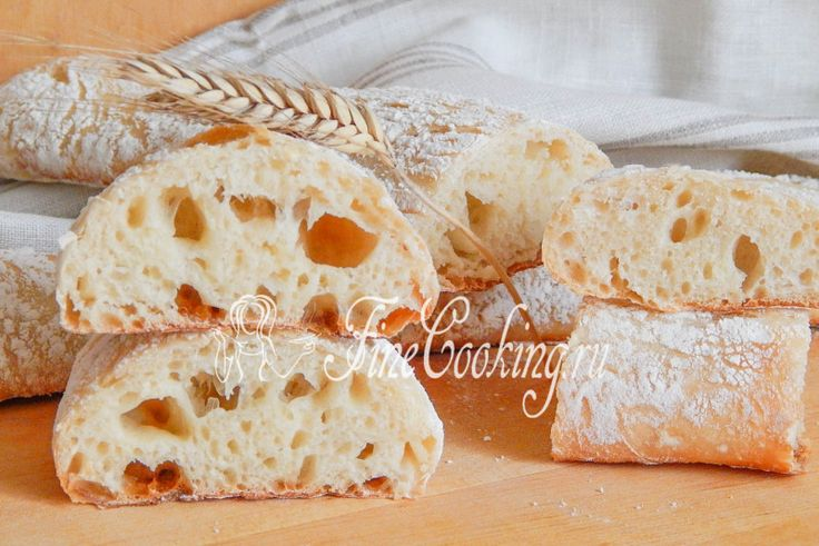 Итальянский хлеб стирато - рецепт с фото