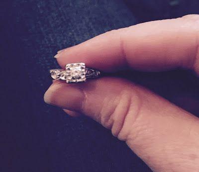 "Me wedding ring broke, so this...""MEMORIES"""