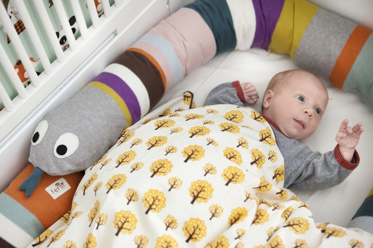 Mr. Snake pillow by FermLiving for babies born in 2013 the Year of Snake