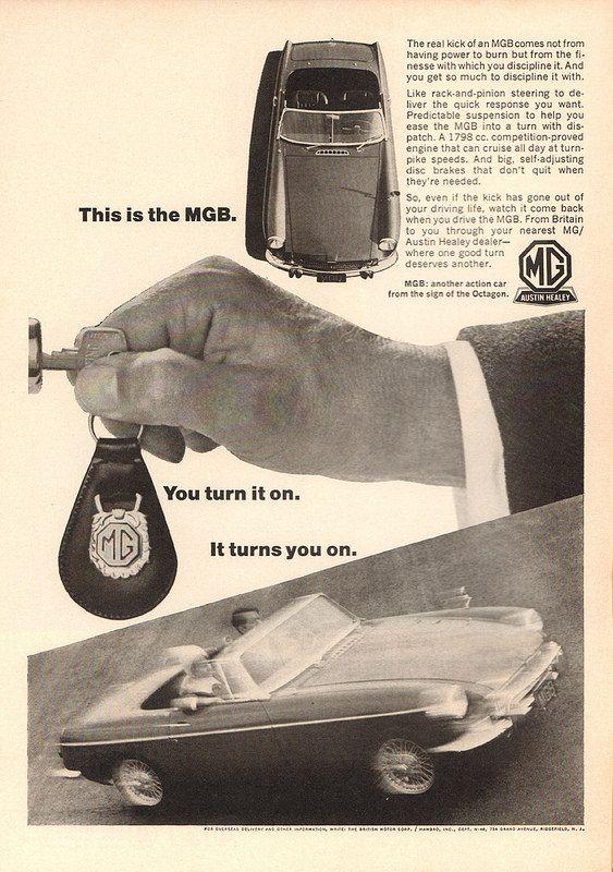 1966 mgb advertisement newsweek september 19 1966