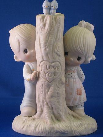 Thee I Love - Precious Moment Figurine