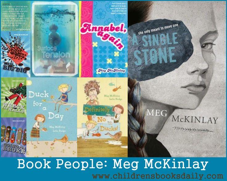 Book People Meg McKinlay - Children's Books Daily