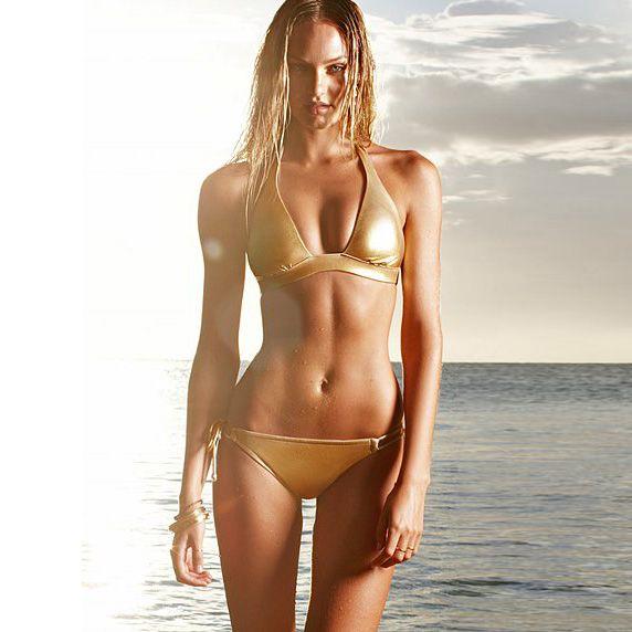 Aliexpress.com : Buy Fashion swimwear women's bikinis25 bikini swimwear gold b124 on coraldaisy. $36.16