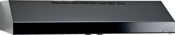 Broan QML30BL Pro-Style Under-Cabinet Canopy Range Hood with Internal Blower, 2-Speed Rocker Fan Control, Dual 35W Halogen Lights, Dishwasher-Safe Filters and Convertible to Non-Ducted Operation: Black
