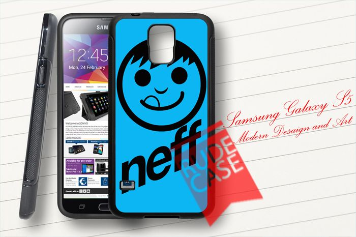 Samsung Galaxy S5 Custom Blue NEFF Rubber Case