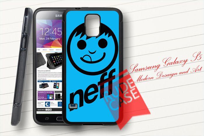 Samsung Galaxy S5 Custom Blue NEFF Rubber Case