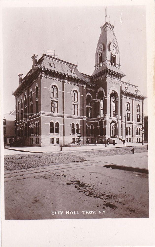 RP: City Hall , TROY , New York , 00-10s