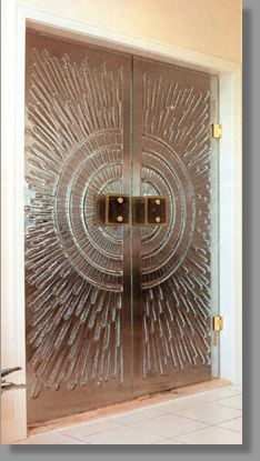 Front patio entry??  Relief Glass Doors