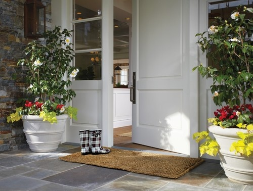 Cape Cod Style in Dana Point, California - traditional - entry - orange county - Wendi Young Design