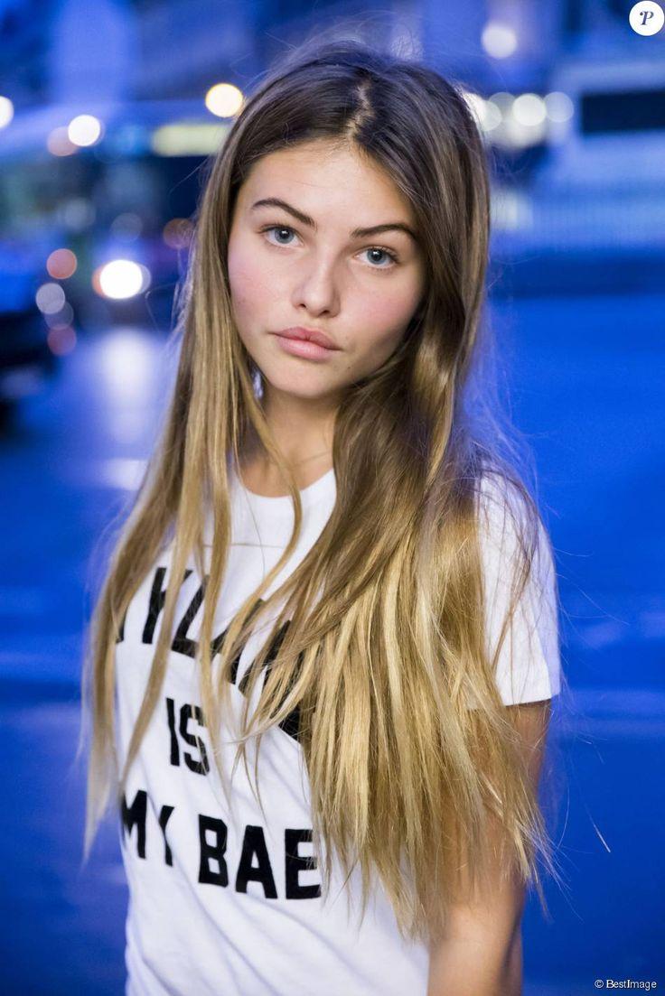 "Thylane Blondeau, la fille de Véronika Loubry, lance sa collection ""Thylane"" chez Elevenparis le 4 novembre 2015."