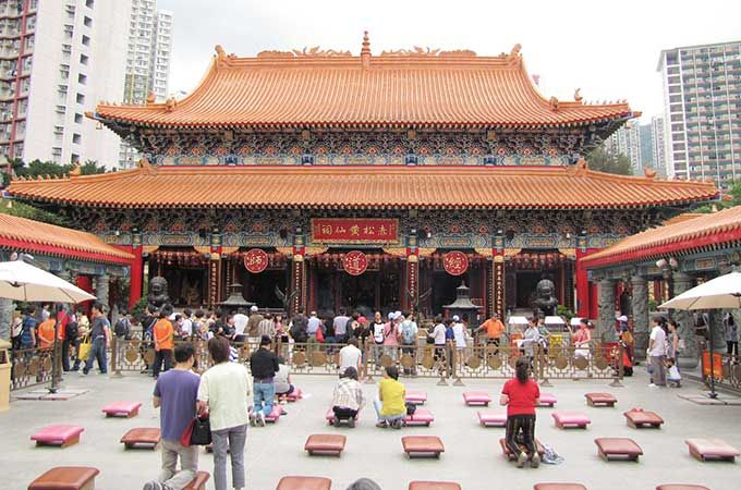 Wong Tai Sin Temple in Kowloon; photo: Wiredtourist.com – Flickr