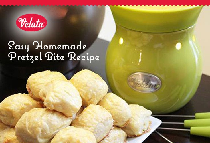 Seriously—the simplest homemade pretzel recipe out there. Such an amazing Velata Recipe!
